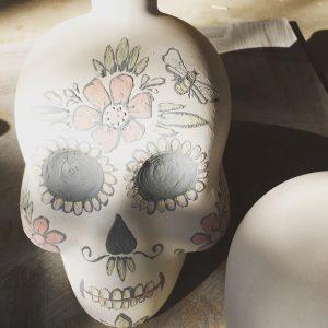 Skull Oil Decanter